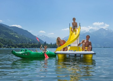 austrian lake in zell am see