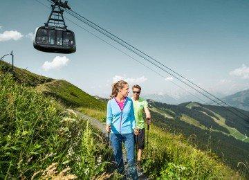 Wandern auf der Schmittenhöhe