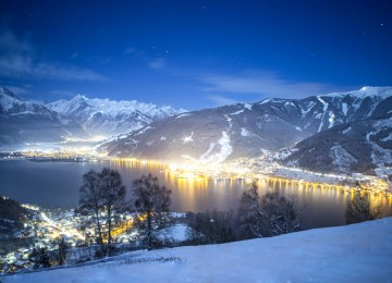 Winter's night in Zell am See